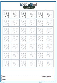 श्र (shra) Hindi Alphabet Worksheets for Writing, Drawing ...